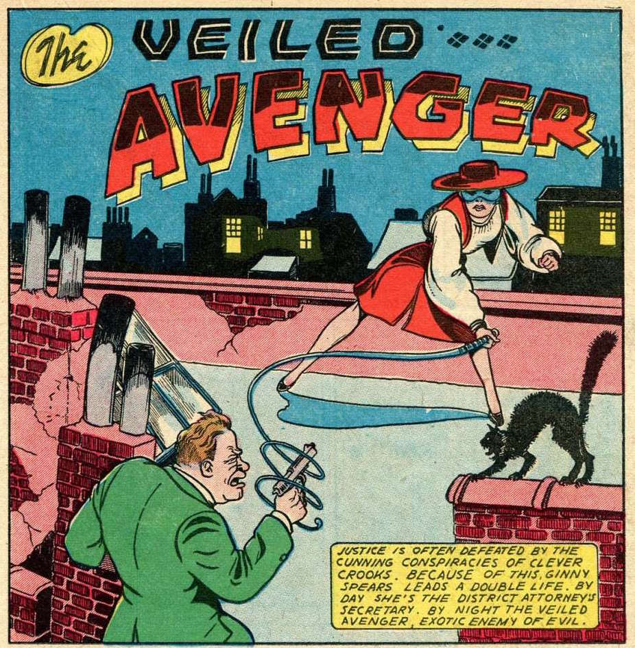 Her-POW! New Adventures of Vintage Heroines